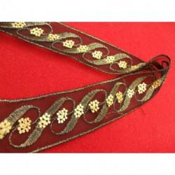 bouton acrylique marbré  à 4 trous, 22 mm, convient pour chemisier, robe , pull, veste, blaser