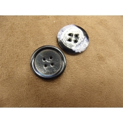 bouton acrylique à 4 trous bleu nuit, 22 mm, idéal pour   pull, veste, blaser, robe, chemisier