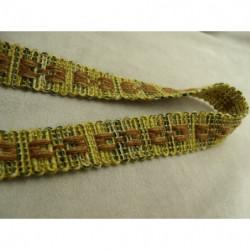 bouton acrylique marron à 4 trous, 20 mm, idéal  pour chemisier, robe , pull, veste, blaser