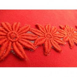 ruban strass et demi perle nacré,2 cm sublime pour la customisation de vêtement, collier, chapeau, bijoux, ornement...