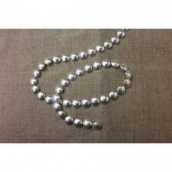 ruban broderie argent,12 cm, pailleté et perlé,convient pour customiser vos vêtements et tout objets de décorations