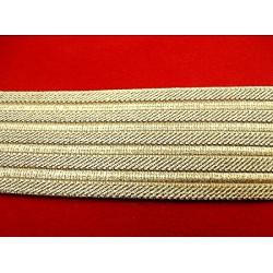 guipure coton, 3.5 cm, bleu marine