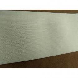 ceinture polyprofene bleu sur boucle en metal argent avec strass violet
