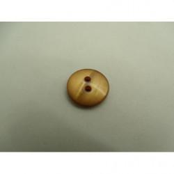 ceinture simili cuir marron  boucle métal bronze