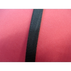 ruban gros grain décoratifs noir,10 mm, Idéal pour tous vos loisirs créatifs : couture, scrapbooking, bijoux,