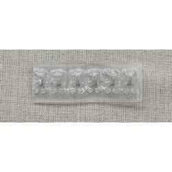 anneau acier noir-4cm