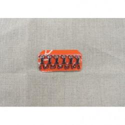 anneau acier noir-2cm