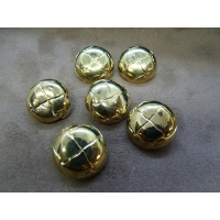 bouton acrylique or,21 mm,sublime pour chemisier, robe , pull, veste,