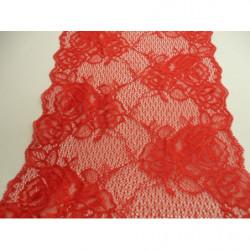 RUBAN SKAI AVEC CHAINETTE-5 cm- VERT FONCE  & OR
