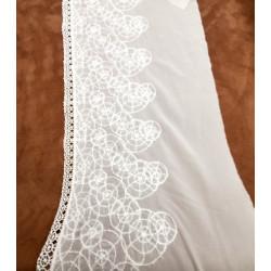 ruban lurex-5cm- argent