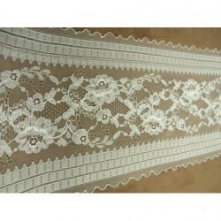 Ruban lurex -5cm- argent