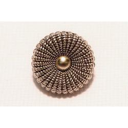 ruban perlé bleu & argent, 2 cm, brodée de rocaille,Spécialement conçu pour des finitions parfaites pour vos travaux de couture,