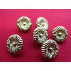 ruban perlé or, 2 cm, brodée de rocaille,Spécialement conçu pour des finitions parfaites pour vos travaux de couture,