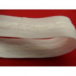 ruban perlé avec satin or, 1.5 cm, Spécialement conçu pour des finitions parfaites pour vos travaux de couture,
