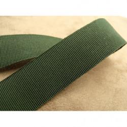 ruban brodé avec perles sur voile marron,7.5 cm,,idéal pour customiser vos vêtements et tout objets de décorations
