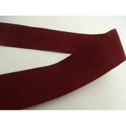 ruban brodé avec organza marron ,6 cm,idéal pour customiser vos vêtements et tout objets de décorations