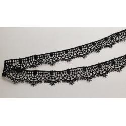 Ruban sangle laniere bicolore, 3 cm, pour la fabrication de ceinture ,sacs, bandoulières très tendance super résistant