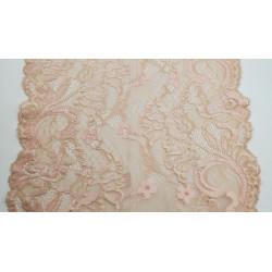 Frange noire en polyester -30 cm