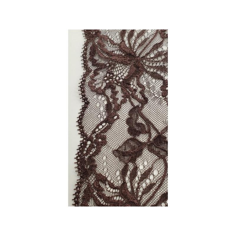 Frange beige écru en polyester 5 cm, super tendance