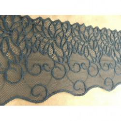 ruban frange orange épaisse,5 cm,coton perlé,parfait pour customiser un vêtement robe, tee shirt ,ou un objet ,chapeau ,sac