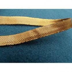 ruban satin deux faces- bleu ciel-10mm