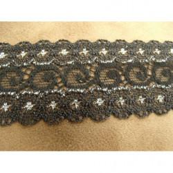 ruban frange jaune multicolore, 6 cm,sublime pour customiser un vêtement, robe ,tee shirt, ou un objet, chapeau, sac