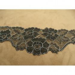 ruban frange rouge multicolore, 6 cm,convient  pour customiser un vêtement, robe ,tee shirt, ou un objet, chapeau, sac