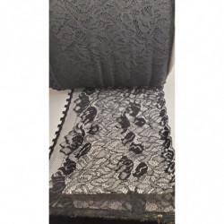 ruban frange bleu multicolore, 3 cm, parfait pour customiser un vêtement ,robe ,tee shirt ,ou un objet ,chapeau ,sac