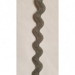 ruban base velours saumon foncé, 3 cm,sublime  pour toutes vos créations de couture, customisations, vêtements, sac..