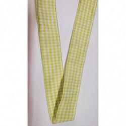 ruban gros grain  blanc cassé,2 cm,  avec bande velours centrale, 2 cm, parfait  pour tous vos loisirs créatifs : couture,