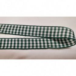 ruban avec deux bandes velours blanc, 4,5 cm , parfait  pour toutes vos créations de couture, customisations, vêtements, sac..