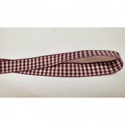 ruban avec deux bandes velours  fuschia ,2,5 cm, sublime pour toutes vos créations de couture, customisations, vêtements, sac..