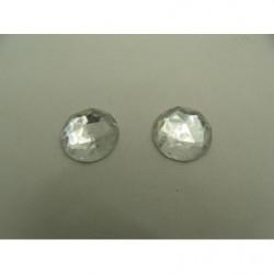 Ruban bleu turquoise-8 mm- irisé