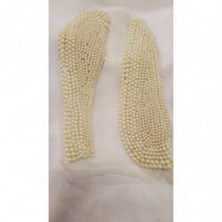 ruban organza bleu roi 1,3 cm, convient pour toutes décorations et finitions et embelli vos articles, vendu par 4 mètres
