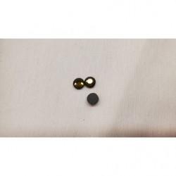 ruban tissé vert et beige, 25 mm, idéal pour toutes créations et réalisations