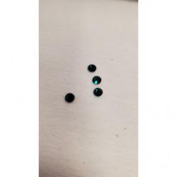 DENTELLE/ BRODERIE sur tulle blanche, 10 cm/ 2 cm, , sublime pour customiser un vêtement, une robe,chemisier, sac, pochette