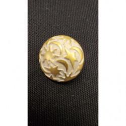 ruban gros grain jaune paille ,3.5 cm, parfait  pour tous vos loisirs créatifs : couture,