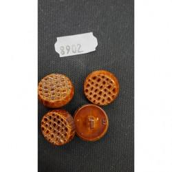 ruban gros grain marron,4 cm,sublime pour tous vos loisirs créatifs : couture,