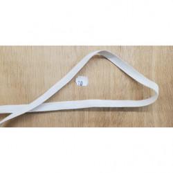 ruban fantaisie marron et lurex or ,3  cm, convient  pour customiser , vêtements , sac, pochette