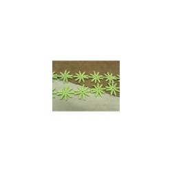ruban velours bordeaux brodée lurex,10 cm, idéal pour toutes vos créations de couture,