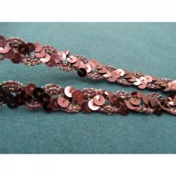 ruban velours -5 cm - JAUNE