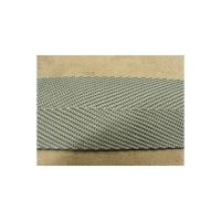 Sangle polyester LANIERE grise ,4 cm , convient pour la fabrication de ceinture - sacs- bandoulières