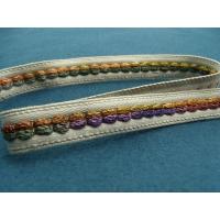 ruban tissé multicolore ,1.7 cm