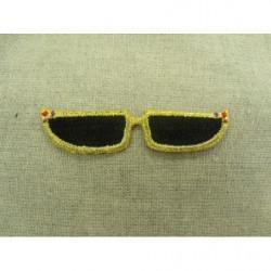 elastique rond-3mm- vert bicolore