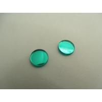 strass effet miroir vert,11 mm,vendu par 10 pièces