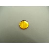 strass effet miroir orange ,11 mm,vendu par 10 pièces