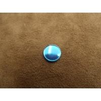 strass effet miroir bleu ,11 mm,vendu par 10 pièces