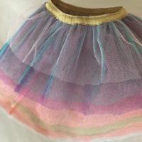 fabrication d'une petite jupe pour petite fille avec nos tulles