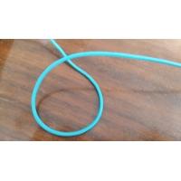 elastique rond élasthanne bleu turquoise ,3 mm