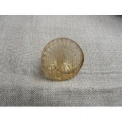 perles acrylique rond-6mm- doré